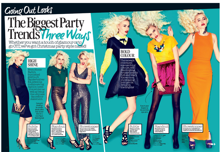 Office Party Heels as seen in LOOK Magazine feature