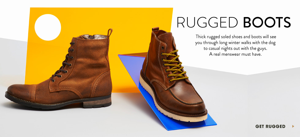 Rugged Boots - Shop Now