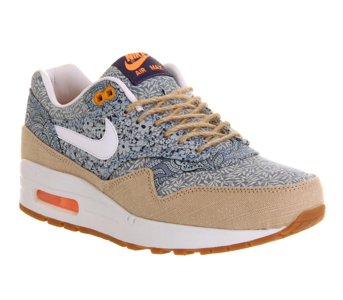the latest 51ca6 44e9a Nike Air Max 1 (l) Blue Recall Linen Liberty - Hers trainers