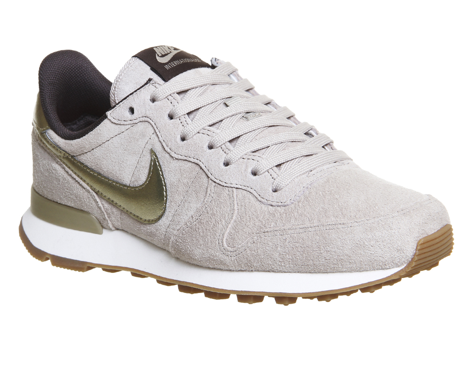 low priced 416e0 5cf3e Nike Nike Internationalist String Metallic Gold Grain - Hers trainers
