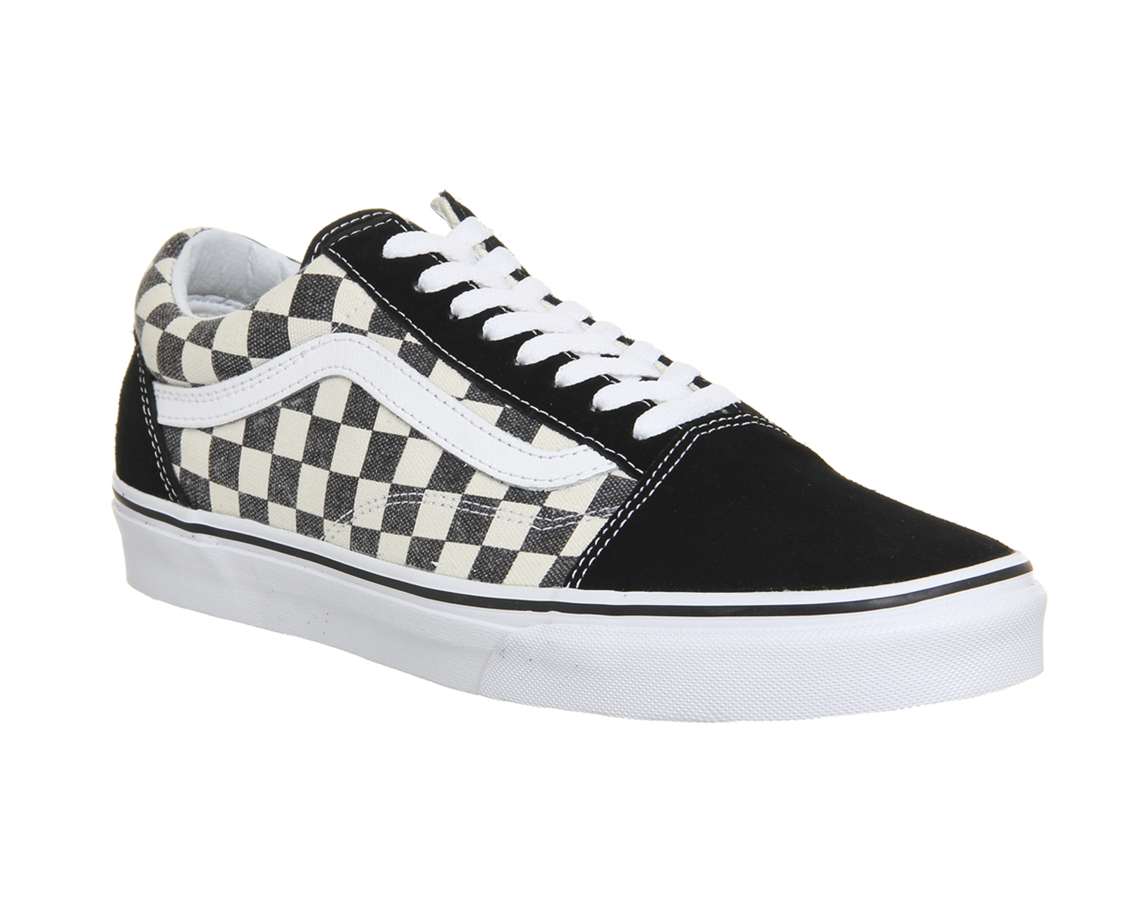 vans old skool dames checkerboard