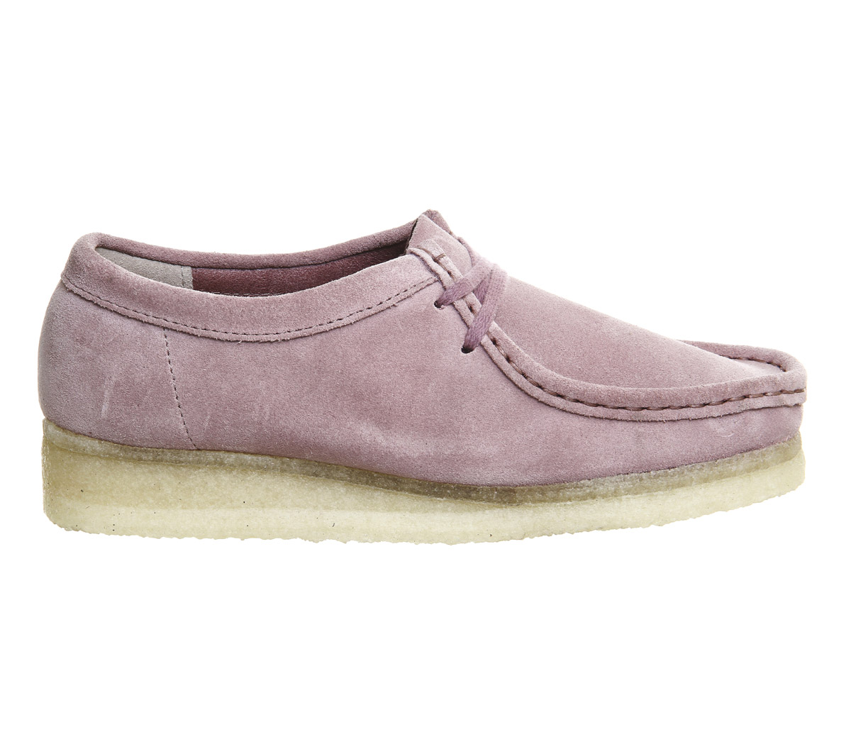 87a8e894 Clarks Originals Wallabee Shoes Vintage Pink Suede - Ankle Boots