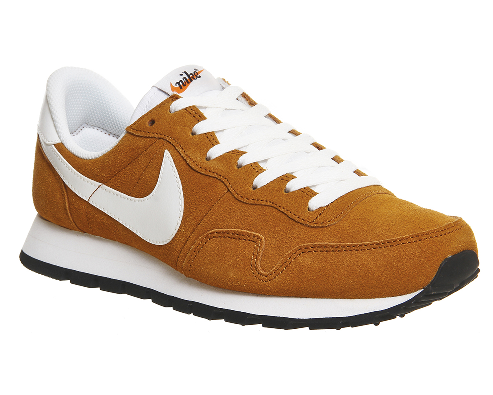 nike air pegasus 83 trainers ginger summit white leather. Black Bedroom Furniture Sets. Home Design Ideas